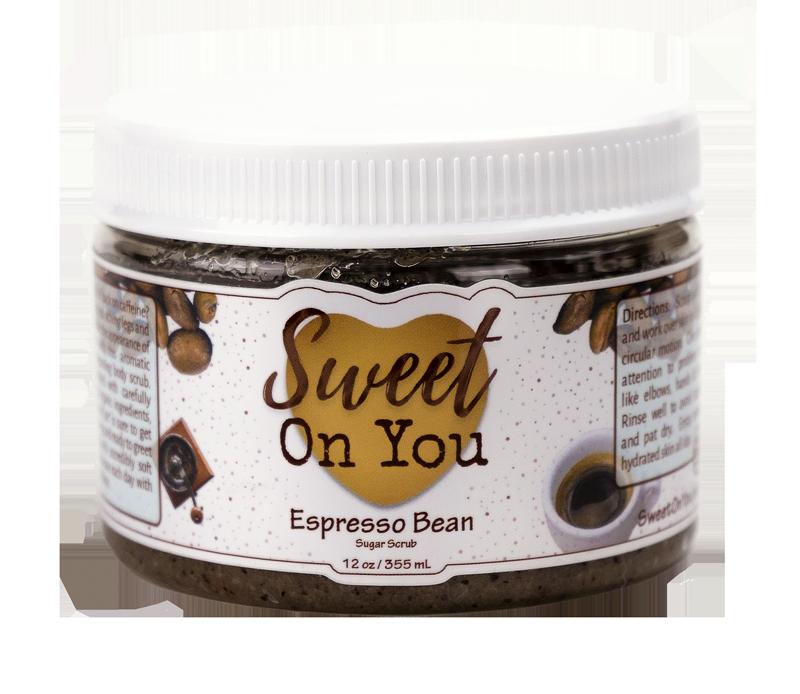 Organic Sugar Body Scrub for Skincare 12 ounce