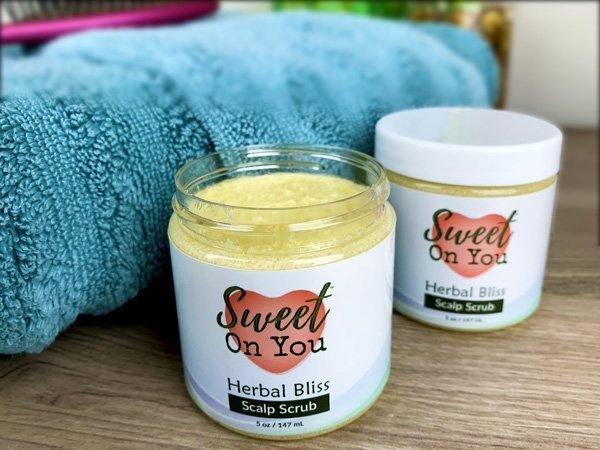 Sweet On You Luxury Sugar Scrub for Scalps