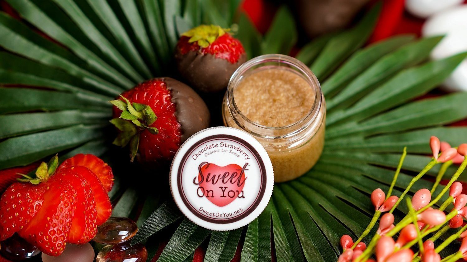 Luxury Lip Scrub for Dry, Chapped Lips